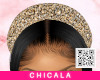 Ch Gold Padded Headband