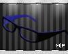 MP Blue Glasses