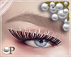 Extended Silver Lashes
