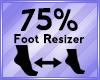 Foot Scaler 75%
