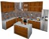 Kitchen Wood Lilac Anim