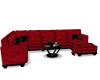 Fransha Red Sofa