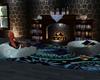 Boho Cabin Fireplace