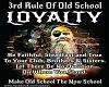 3rd Rule Old School