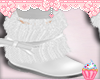 ! Solid Plain White Boot
