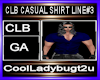 CLB CASUAL SHIRT LINE#3