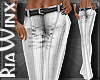 White Wool Trousers
