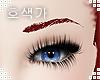 Strawberry Eyebrows