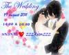 wedding un&kim