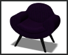 Purple Curved Chair