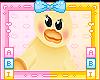 Kids Duck Plushie