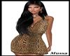[Ga] Leopar Dress sexy