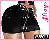 """Skirt PRG1 PVC Black"