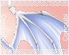 Demon Hip Wings  Blue
