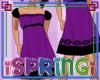 *S* ChildPurpBlack Dress