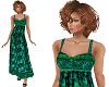 TF* Modest vibrant dress
