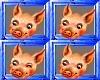 animate pig paintings