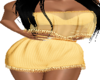 Lia Gold Outfit