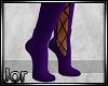 *JJ*Halloween Socks Purp