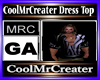CoolMrCreater Dress Top