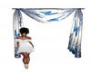 blue loft drapes
