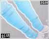 Blue paw socks