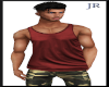 [JR] Muscle Tank Red