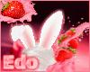 bunny ears- white