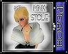 SP White Mink Stole