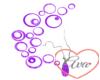 Circle Decor Purple