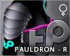 TP Cyberpunk R Pauldron