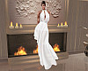 White Lace N Chiffon