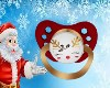 Baby Rudolph Pacifier
