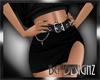 [BGD]Slit Skirt-Black-RL