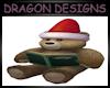 CHRISTMAS READING BEAR