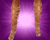 (S)Lace Shoes Gold