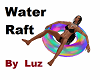 Water Raft with poses