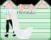 -M- Snow Wolf Tail