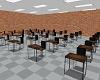 School Blackboard & desk