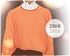 Lace Collar Sweater Oran