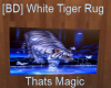 [BD] White Tiger Rug