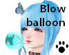 Blow balloon NK