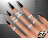 CG | Black Ombre Nails S