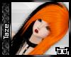 -T- Ezra Black & Orange