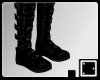 + Black Buckle Boots M