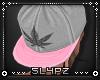 !!S Weed Snapback Pink