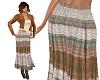 TF* BOHO Midi Skirt