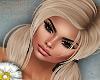 blonde pigtails no shine