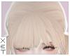 ✘ blonde bangs