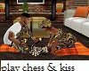 Friendsgiving Chess Kiss